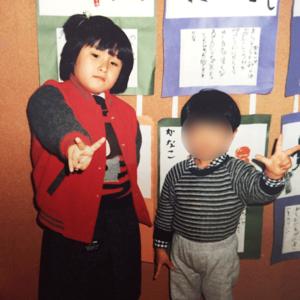 稀子幼稚園の頃の写真